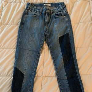 Paneled GUESS Jeans